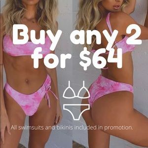 Any 2 bikini/swimsuit combo Package